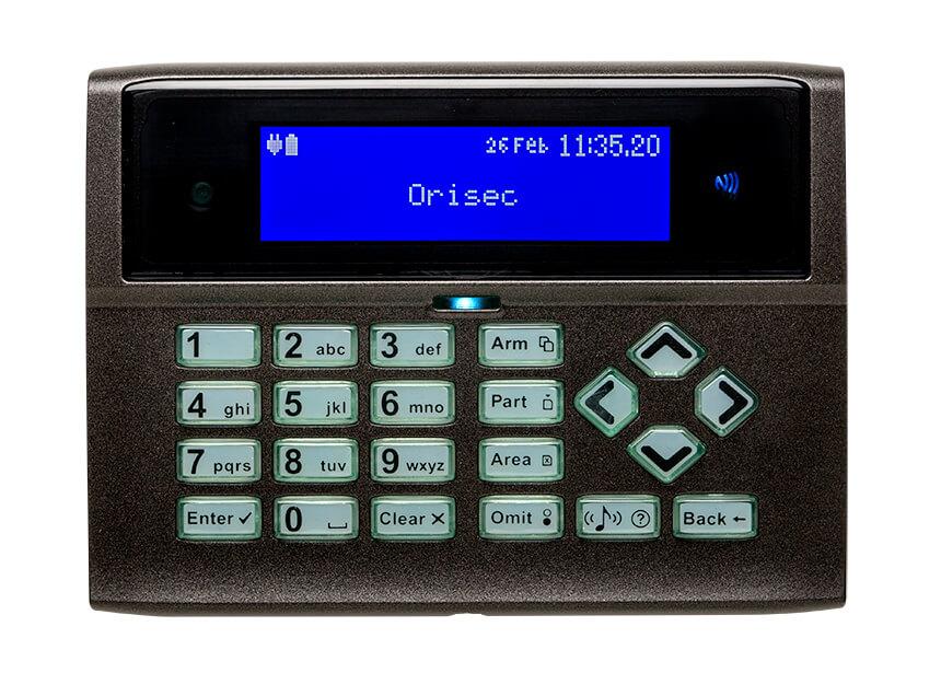 Orisec 700 Series Keypads Professional Security Equipment